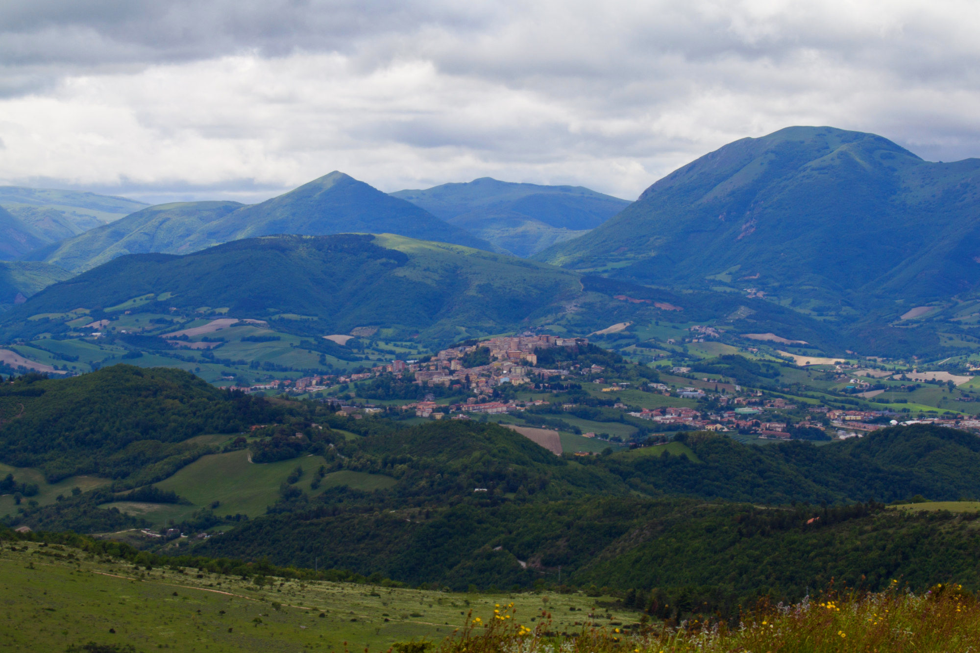 camerino from monte d'aria